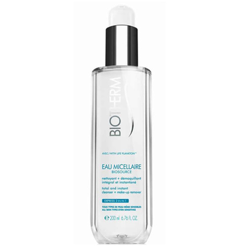 Biotherm Eau Micellaire Total and Instant 6.8-ounce Cleanser and Makeup Remover