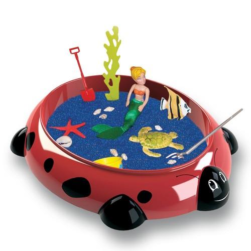 Be Good Company Ladybug Sandbox Critters Play Set