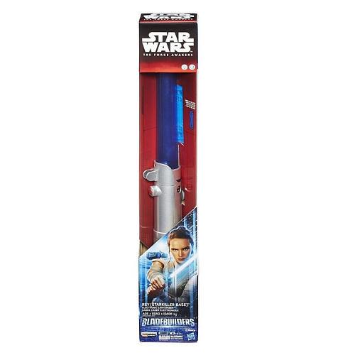Star Wars Bladebuilders - The Force Awakens Electronic Lightsaber Rey (Starkiller Base)- Blue
