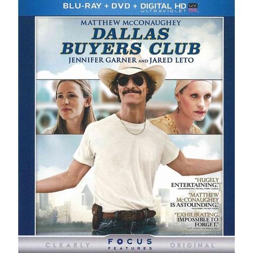 Dallas Buyers Club (Blu-ray + DVD + Digital Copy)