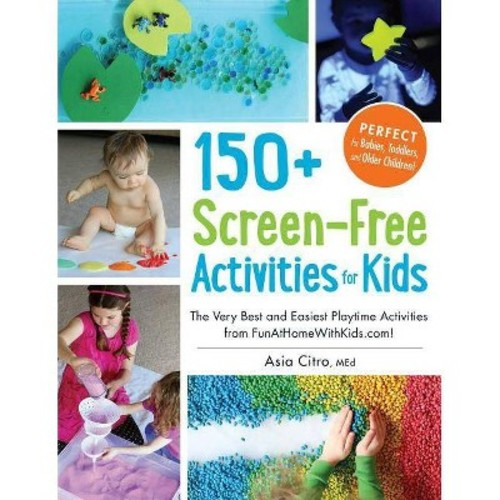 150+ Screen-Free Activities for Kids : The Very Best and Easiest Playtime Activities from FunAtHomeWithKids.com!