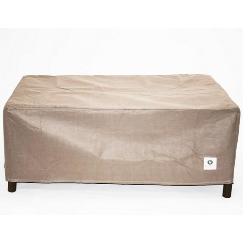 Duck Covers Elite 56 in. Rectangle Fire Pit Cover