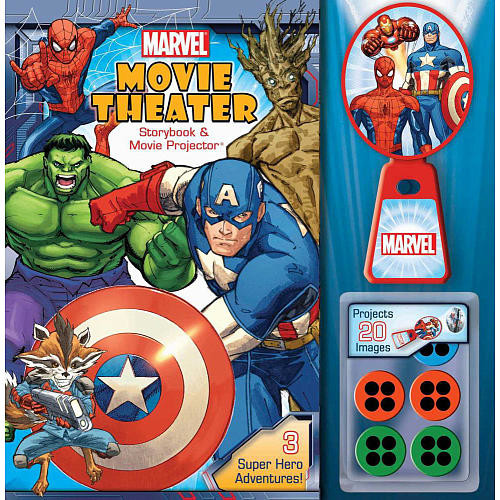 Marvel Movie Theater: Storybook and Movie Projector