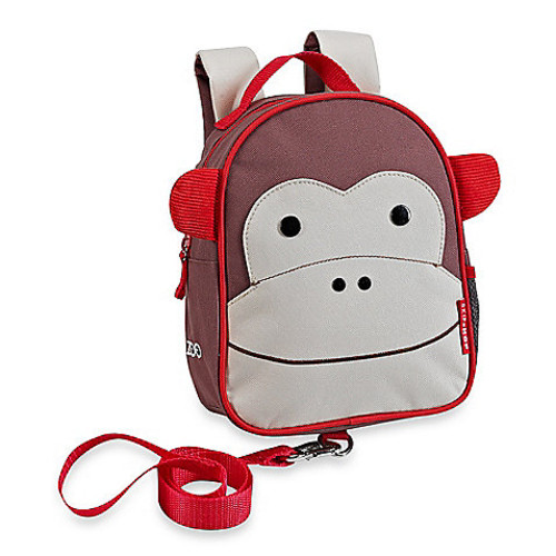 SKIP*HOP Zoo Monkey Safety Harness / Mini Backpack with Rein