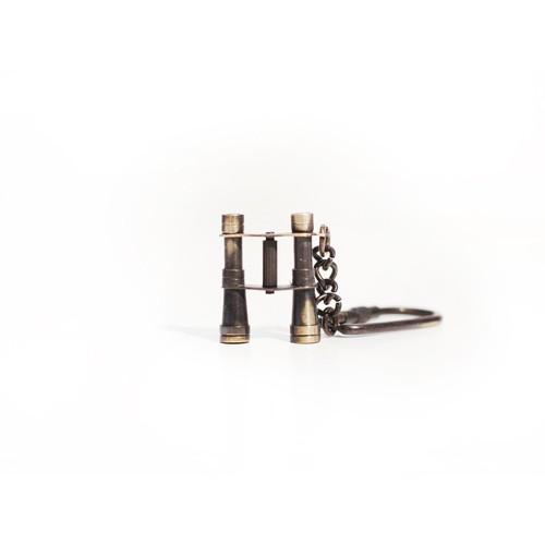 Brass Binocular Key Chain by Vagabond Vintage