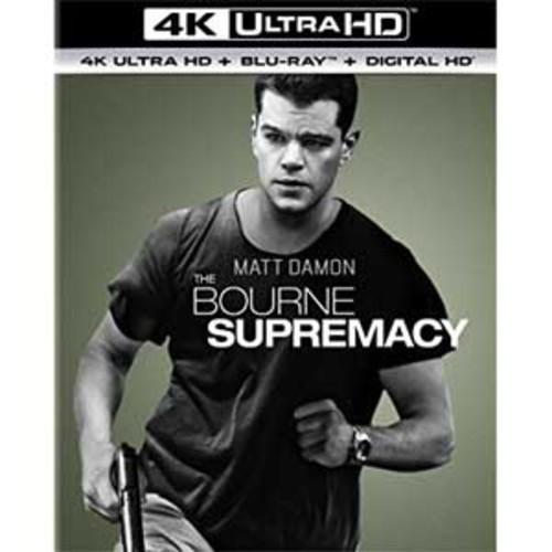 The Bourne Supremacy [4K UHD] [Blu-Ray] [Digital HD]
