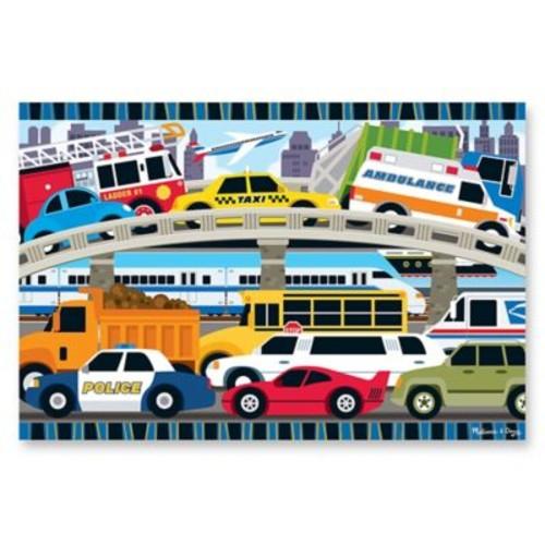 Melissa & Doug Traffic Jam 24-Piece Floor Puzzle