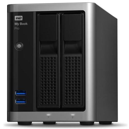 WD 8TB My Book Pro Dual Drive Thunderbolt2 RAID Storage WDBDTB0080JSL-NESN