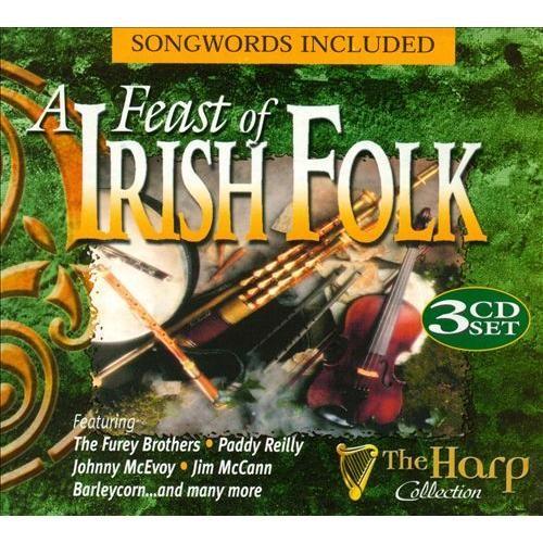 A Feast of Irish Folk [Harp] [CD]