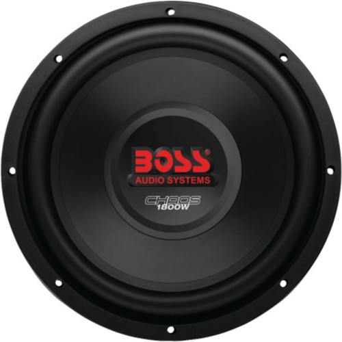 Boss Audio CH12DVC Chaos Series Dual-Voice Coil Subwoofer (12