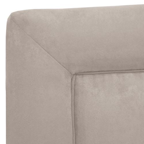 Skyline Furniture Kids Border Headboard in Premier Platinum [option : Twin, Platinum]