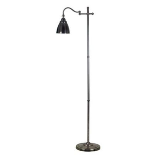 Kenroy Home Alexander Swing-Arm Floor Lamp in Copper Bronze