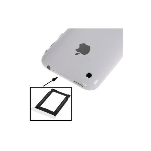 Sim Card Tray Holder for iPhone 3G, iPhone 3GS (White) , High Quality version