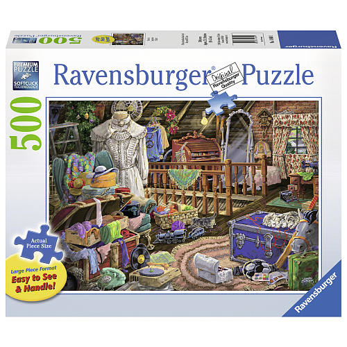 Ravensburger Jigsaw Puzzle 500-Piece - The Attic