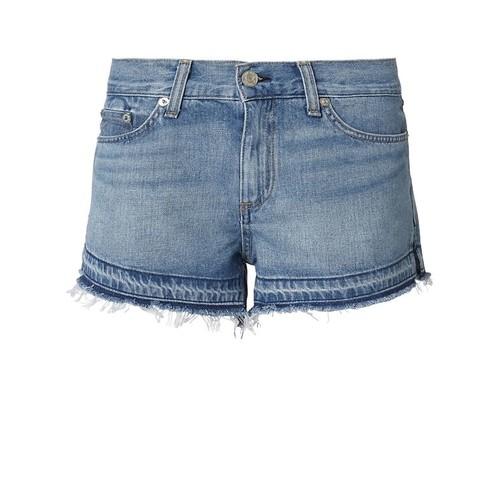 RAG & BONE/JEAN Undone Hem Cutoff Shorts