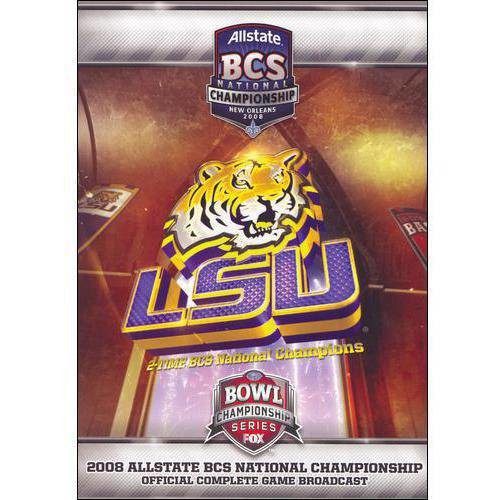2008 Allstate BCS National Championship Game DVD