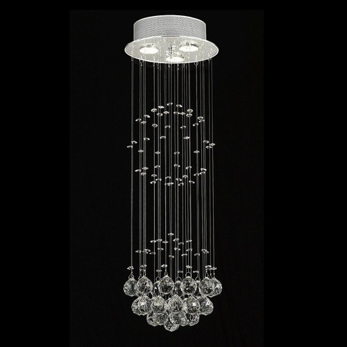 Gallery Raindrop Crystal 3-Light Chandelier