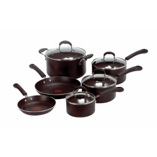 T-Fal 10 Piece Professional Cookware Set (E938SA74)
