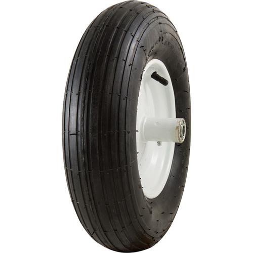 Marathon Tires Pneumatic Wheelbarrow Tire  5/8in. Bore, 4.80/4.008in.
