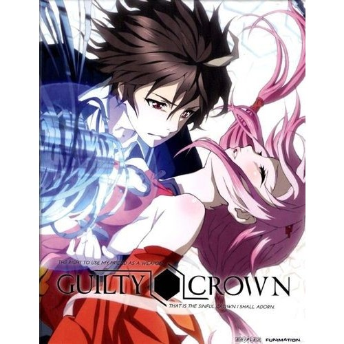 Guilty Crown: Complete Series Part 1 (4 Disc) (W/Dvd) - (4 Disc) - Blu-ray Disc