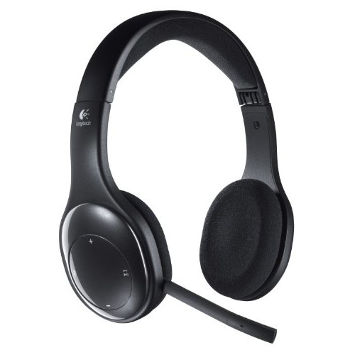 Logitech Wireless Headset h800 for PC, Tablets and Smartphones (981-000337) [Bulk Packaging]