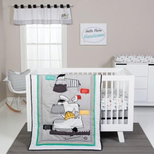 Trend Lab 4-Piece Hello Crib Bedding Set