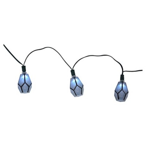 Solar Diamond String Lights (20ct) - Threshold