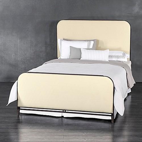 Wesley Allen Baldwin Iron Full Bed in Rust