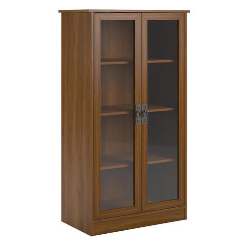 Altra Glass Door Bookshelf