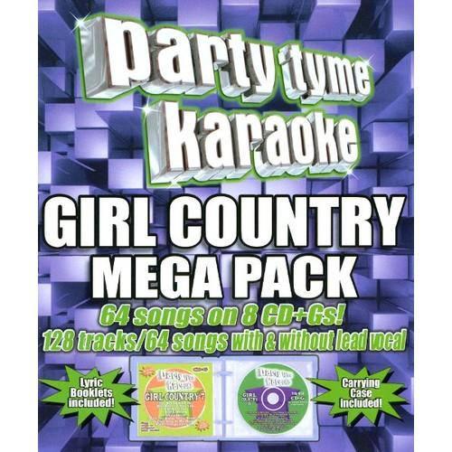 Party Tyme Karaoke - Girl Country Mega Pack [CD + G]