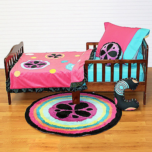 One Grace Place Magical Michayla 4-Piece Toddler Bedding Set