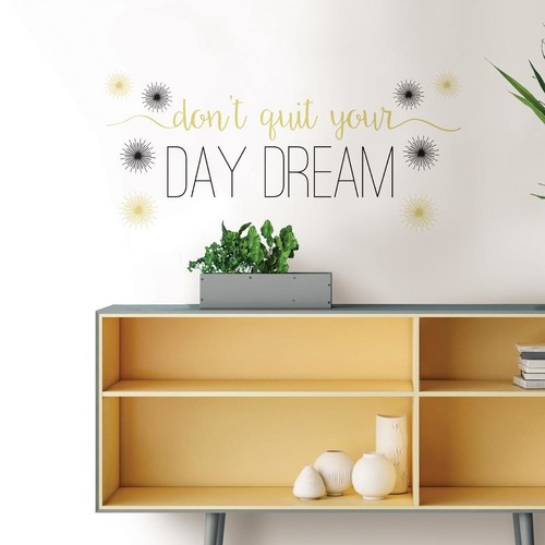 WallPOPs Day Dream Wall Quote