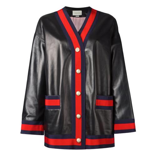 GUCCI Web Trim Cardigan Jacket
