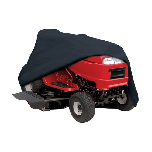 Classic Accessories Lawn Tractor Cover; Black