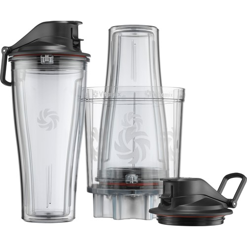Vitamix - Personal Cup Adapter Kit for Vitamix Legacy Series Blenders - Clear/Transparent