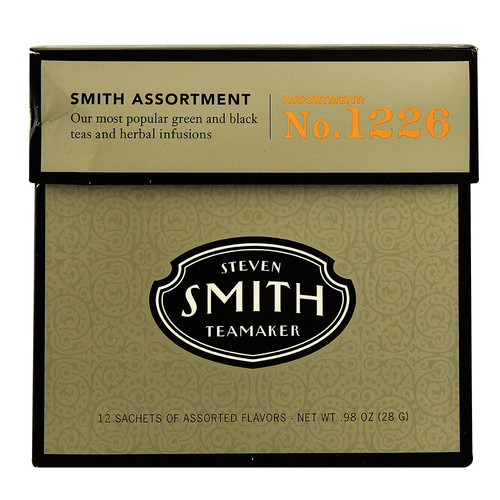 Steven Smith Teamaker Smith Assortment No 1226 -- 12 Tea Bags