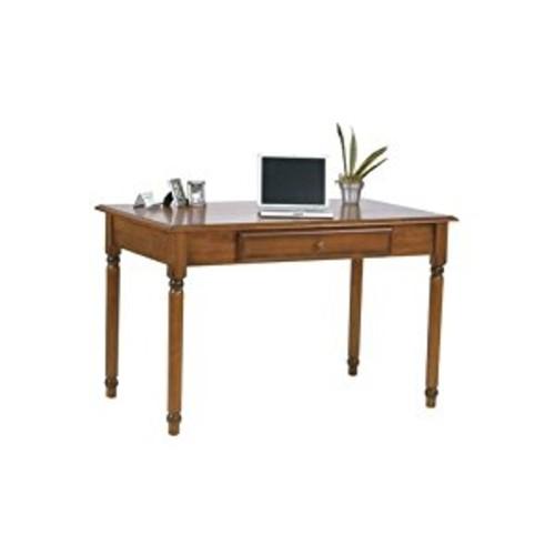 OSP Designs Knob Hill Collection Desk, Antique Cherry Finish