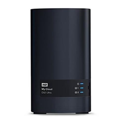 WD My Cloud EX2 Ultra 16TB (2x8TB) 2-Bay Personal Cloud Storage Server WDBVBZ0160JCH-NESN