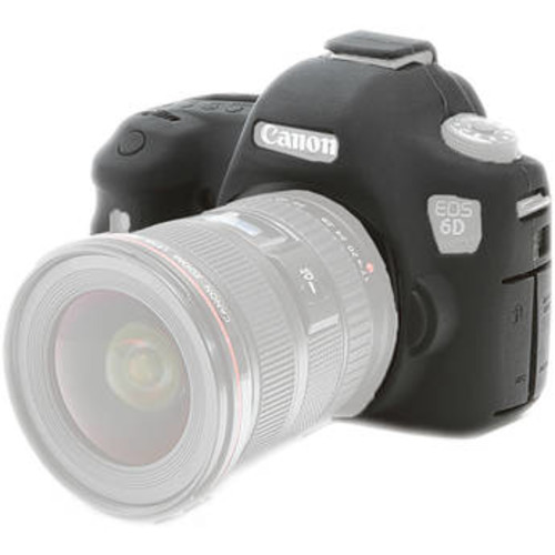 Silicone Protection Cover for Canon 6D Mark II (Black)