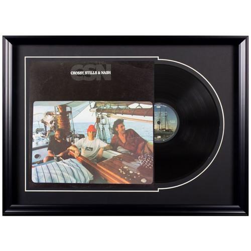 Deluxe Framed Album - Crosby, Stills & Nash- CSN