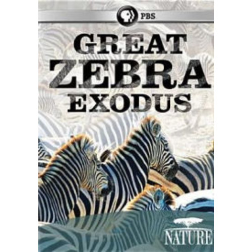 Nature: Great Zebra Exodus (dvd_video)