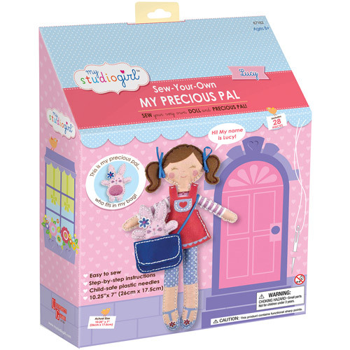 My Studio Girl Sew-Your-Own My Precious Pal - Lucy (Brunette)