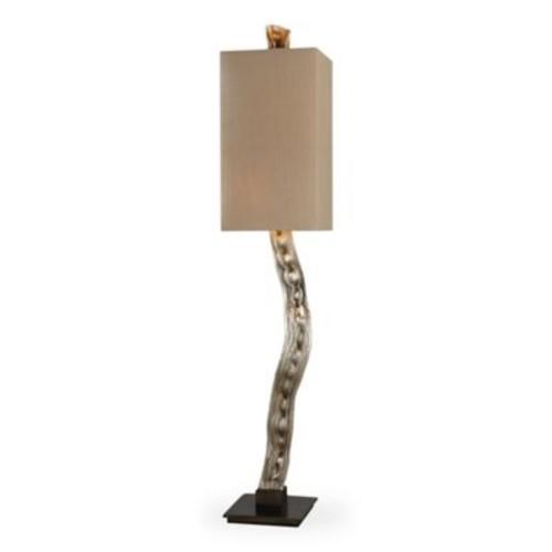 Uttermost Liana Floor Lamp in Silver