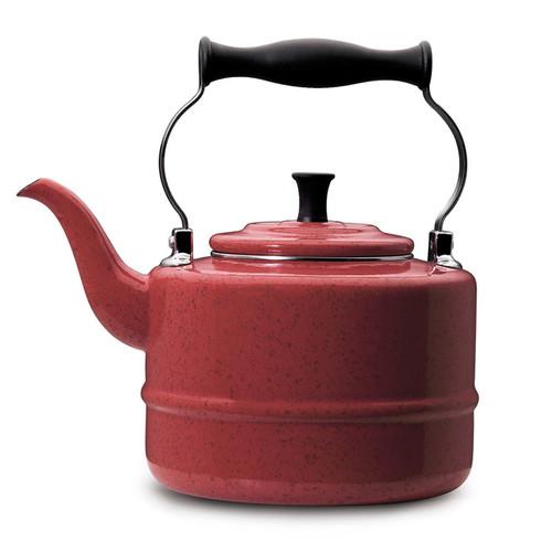 Paula Deen Signature Teakettles 2-quart Red Speckle Traditional Teakettle