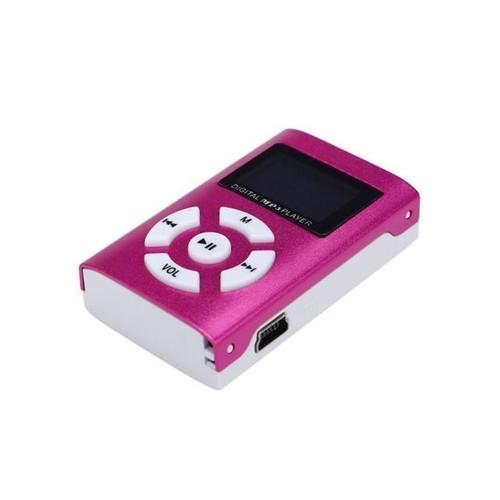 Mini MP3 Player LCD Screen USB Support 32GB Micro SD TF Card Sport Compact