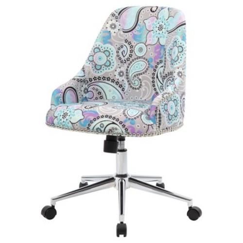 Carnegie Desk Chair - Marsala Red - Boss