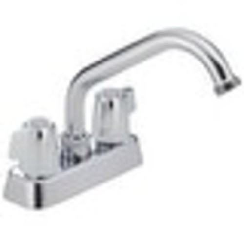 Delta 2131LF Two Handle Kitchen Faucet, Chrome