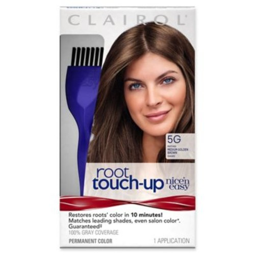 Clairol Nicen Easy Root Touch-Up Permanent Hair Color in 5G Medium Golden Brown