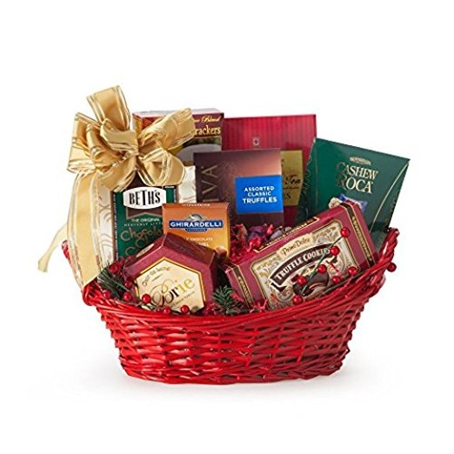 Sensational Seasons Greetings Holiday Gift Basket