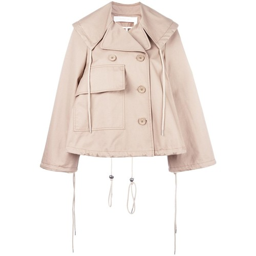 SEE BY CHLOÉ Short A-Line Trench Jacket